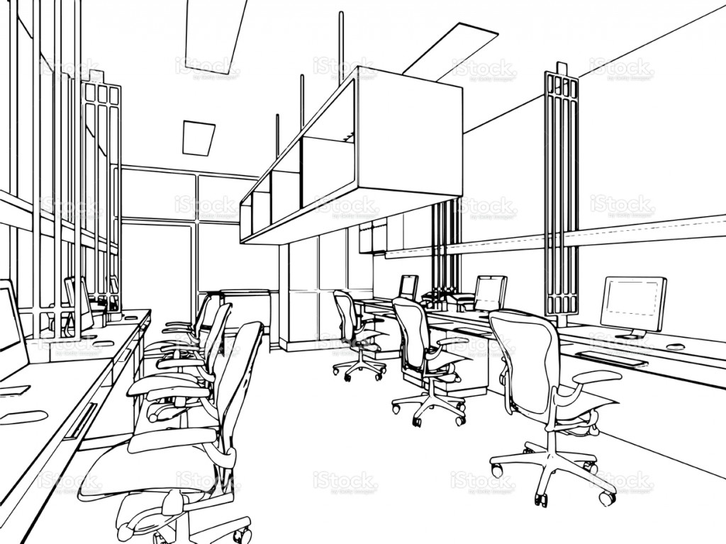 stock-illustration-58348566-outline-sketch-of-a-interior